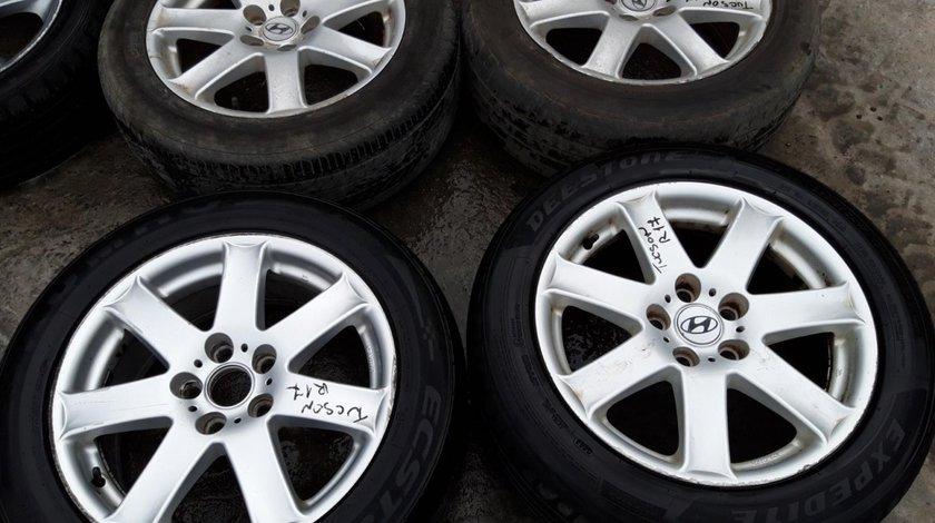Set 8189 - Jante aliaj Hyundai Tucson, 225/55 R17, 7.5jx17h2, 5x114.3