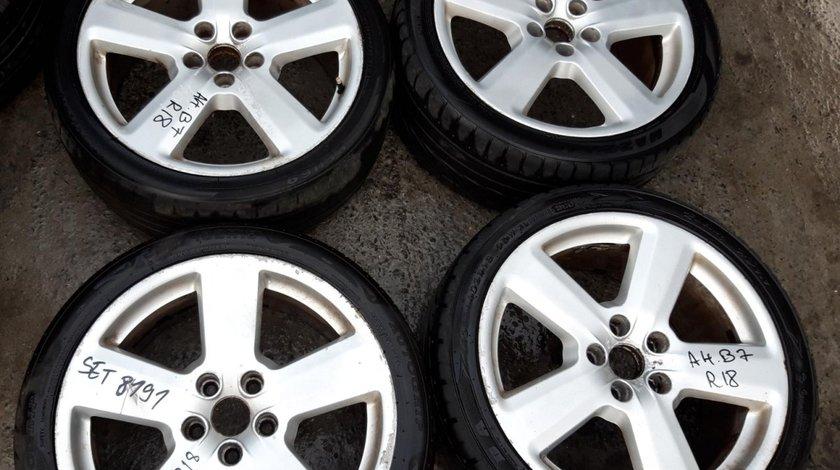Set 8191 - Jante aliaj Audi A4 B7, 235/40 R18, 8.0jx18h2, et43, 5x112