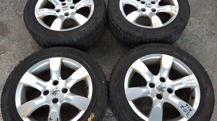 Set 8192 - Jante aliaj Peugeot 307, 205/55 R16, 6.5jx16 ch 4-31, 4x108