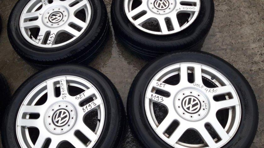 Set 8193 - Jante aliaj VW Golf 4, 205/55 R16, 6.5jx16h2, et42, 5x100