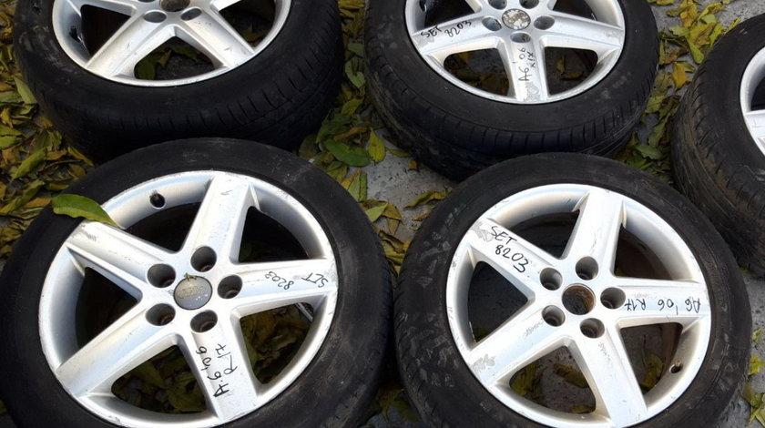 Set 8203 - Jante aliaj Audi A6 C6 4F, 225/50 R17, 7.5jx17h2, et45, 5x112
