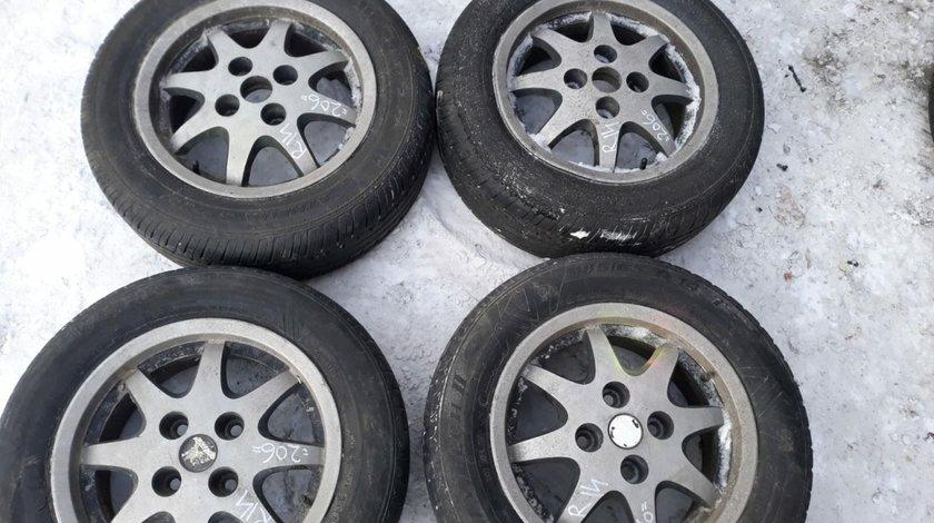 Set 8230 - Jante aliaj Peugeot 206, r14 185/65, 6jx14h2 et34, 4x108