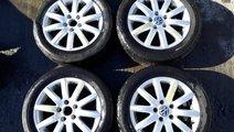 Set 8239 - Jante aliaj VW Golf 5, 205/55r16, 6.5jx...