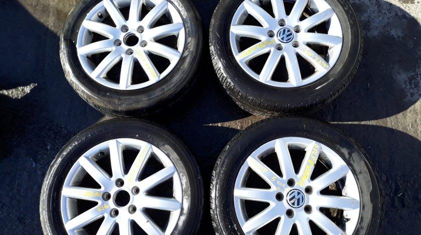 Set 8239 - Jante aliaj VW Golf 5, 205/55r16, 6.5jx16h2 et50, 5x112