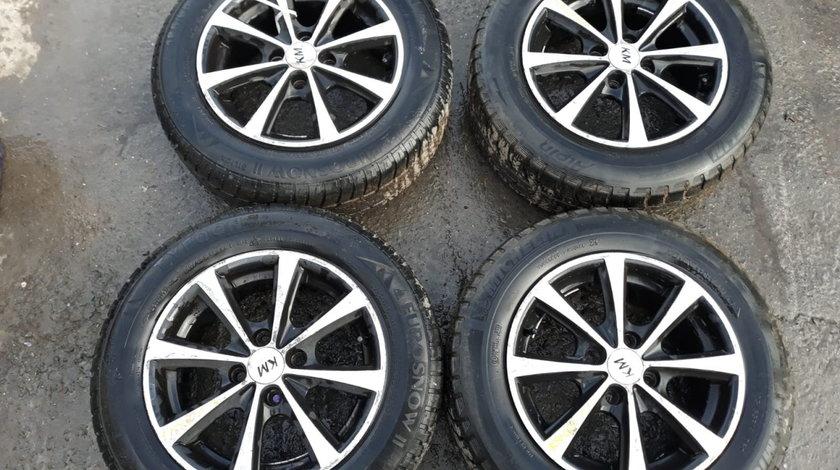 Set 8249 - Jante aliaj Renault Kangoo, 185/65r14, 6jx14h2, 4x100