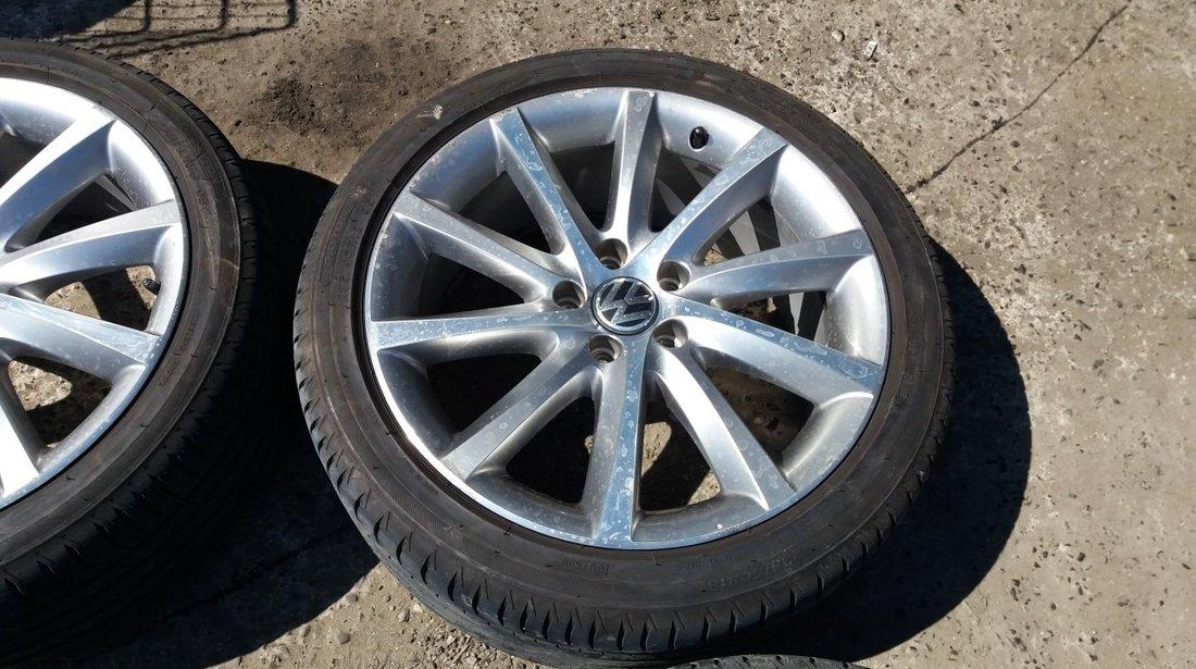 Set 8297 - Jante aliaj VW Passat CC, 8jx18 et44 h2, r18 235/40, 5x112