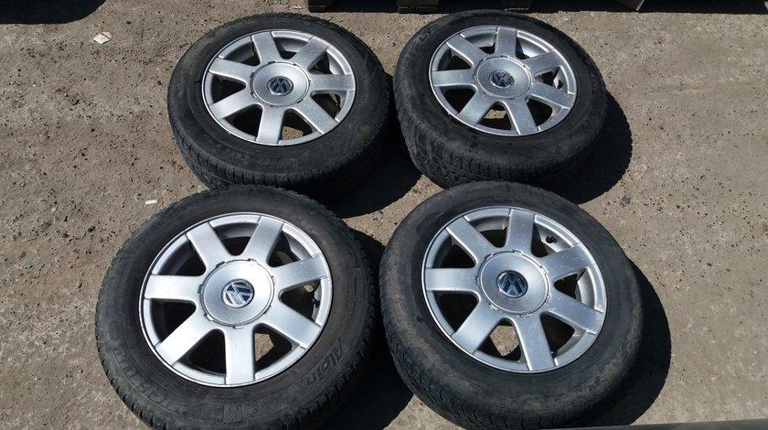Set 8298 - Jante aliaj VW Golf 4, 7jx16h2 et45, 195/65 r15, 5x100