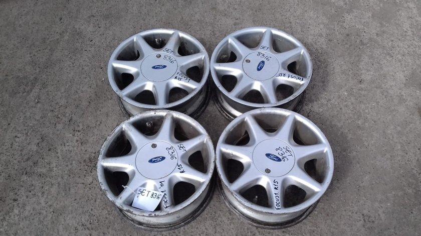 Set 8316 - Jante aliaj Ford Focus 1, R15, 4x108, 6jx15h2 et40