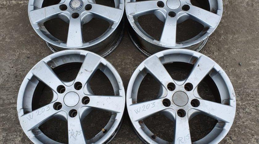 Set 8542 - Jante aliaj Mercedes w203 , 5.5Jx15 ET35 , R15 , 5x112