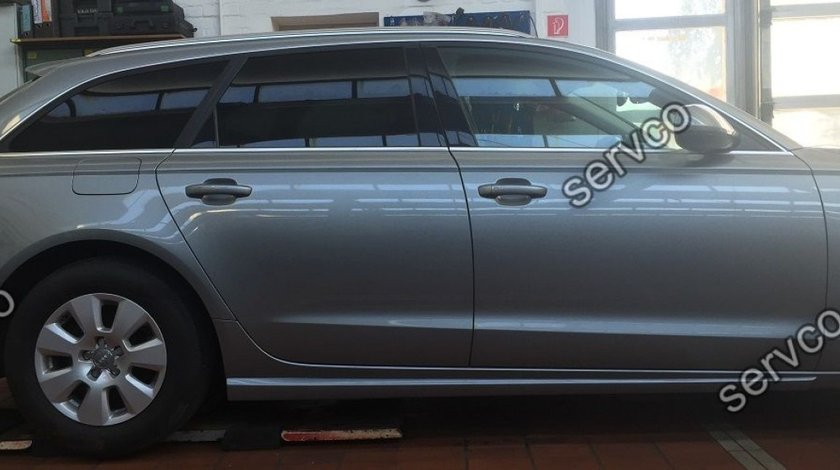 Set ABT ornamente Sline praguri Audi A6 C7 4G AB Look RS6 S6 S-line 2011-2014 v1