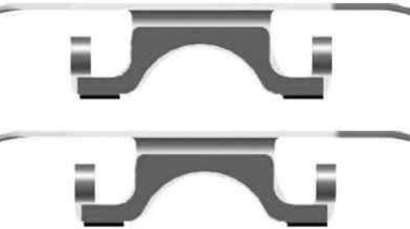 Set accesorii etrier frana BMW X5 E53 TEXTAR 82072800