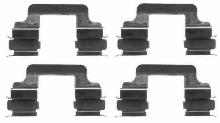 Set accesorii, placute frana AUDI A5 (8T3) TEXTAR 82054900