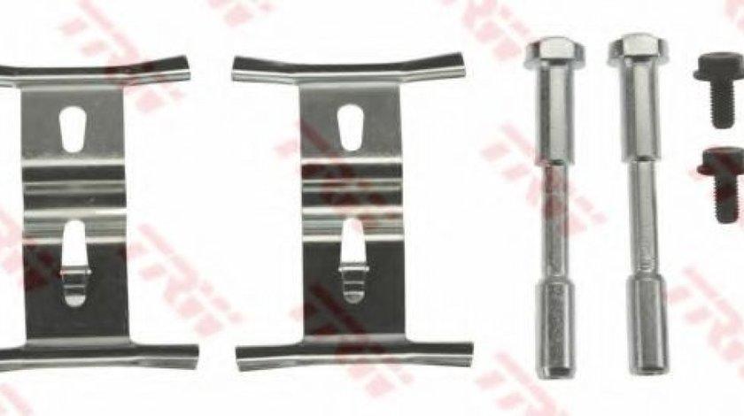 Set accesorii, placute frana AUDI Q7 (4L) (2006 - 2015) TRW PFK503 piesa NOUA