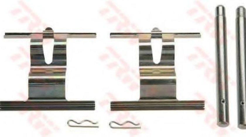 Set accesorii, placute frana AUDI Q7 (4L) (2006 - 2015) TRW PFK505 piesa NOUA