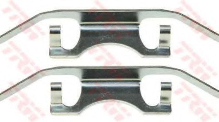 Set accesorii, placute frana BMW Seria 5 (E39) (1995 - 2003) TRW PFK436 piesa NOUA