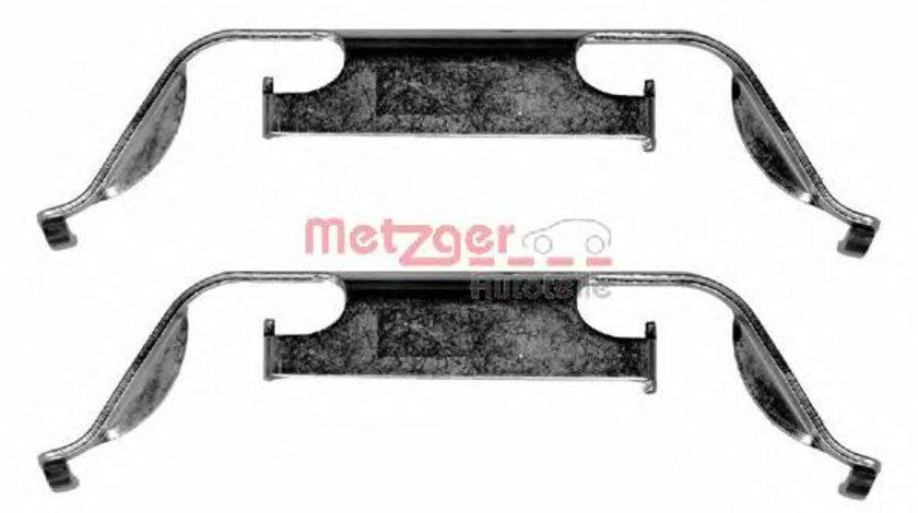 Set accesorii, placute frana BMW Seria 5 Touring (E39) (1997 - 2004) METZGER 109-1222 piesa NOUA