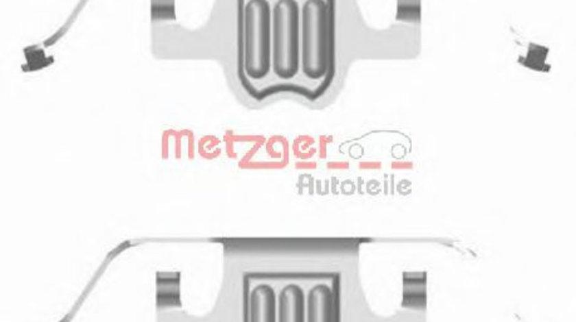 Set accesorii, placute frana BMW Seria 6 (E63) (2004 - 2010) METZGER 109-1695 piesa NOUA