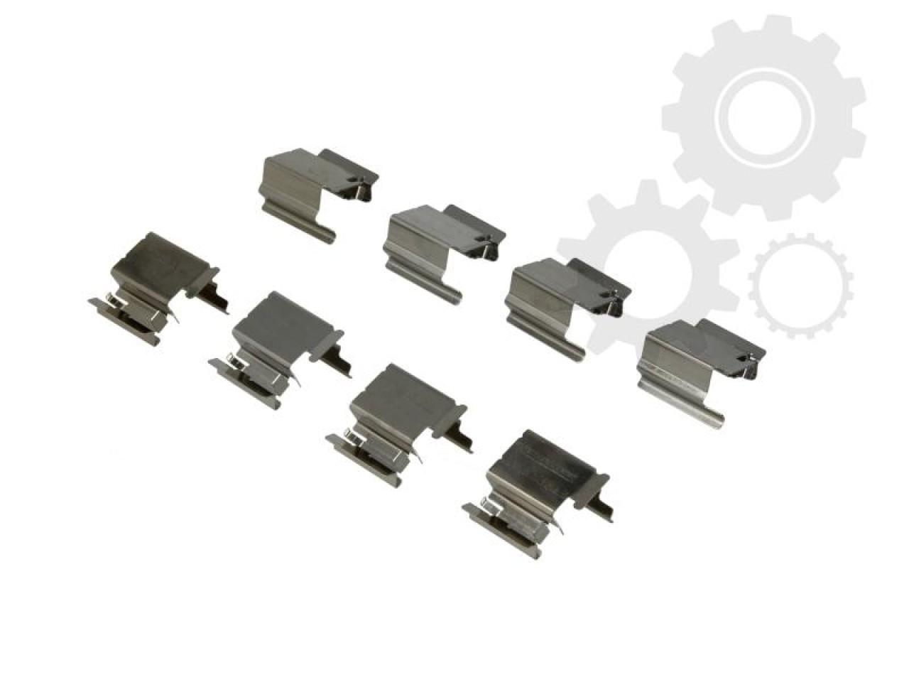 Set accesorii placute frana FORD ESCORT VI sedan GAL Producator OJD QUICK BRAKE 109-1218