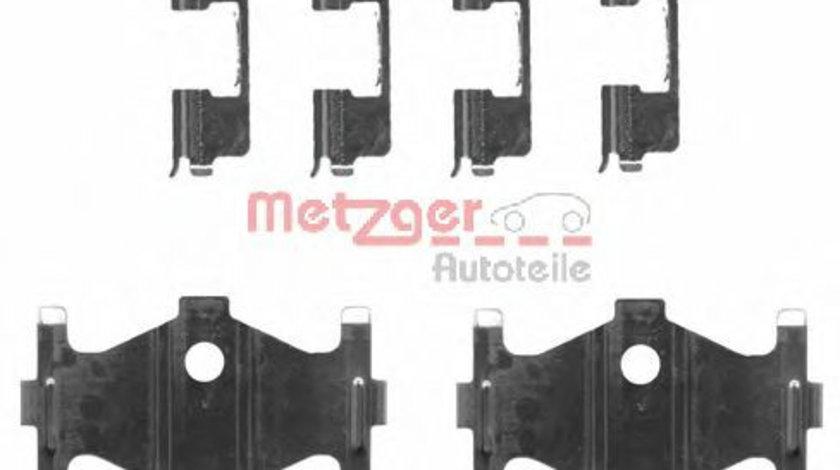 Set accesorii, placute frana HYUNDAI ELANTRA limuzina (XD) (2000 - 2006) METZGER 109-1710 piesa NOUA