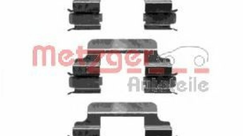 Set accesorii, placute frana MERCEDES CLC-CLASS (CL203) (2008 - 2011) METZGER 109-1231 produs NOU
