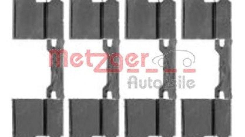 Set accesorii, placute frana MERCEDES VITO / MIXTO caroserie (W639) (2003 - 2016) METZGER 109-1762 produs NOU