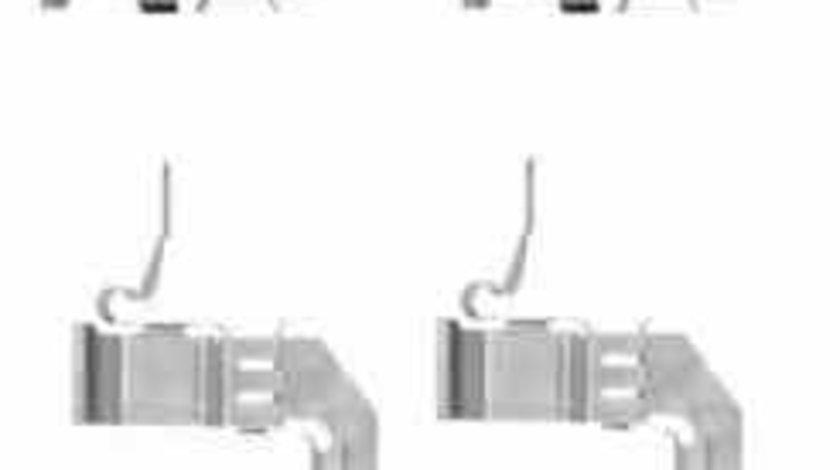 Set accesorii placute frana NISSAN QASHQAI J11 J11E TEXTAR 82507500