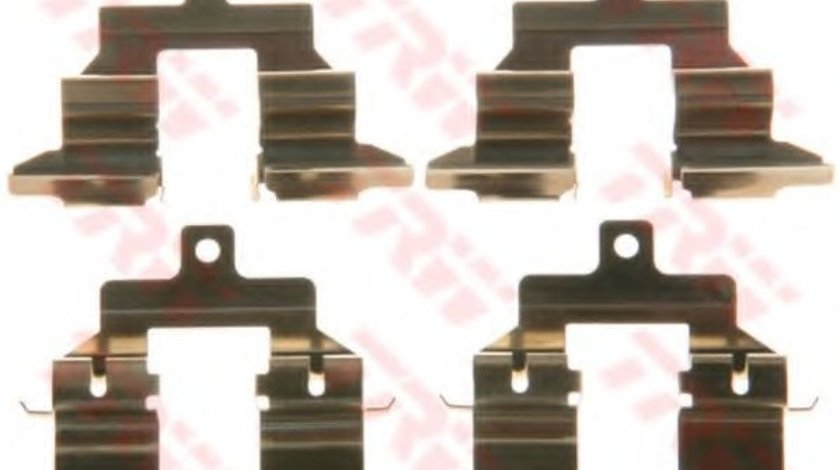 Set accesorii, placute frana NISSAN QASHQAI / QASHQAI +2 (J10, JJ10) (2007 - 2013) TRW PFK579 piesa NOUA