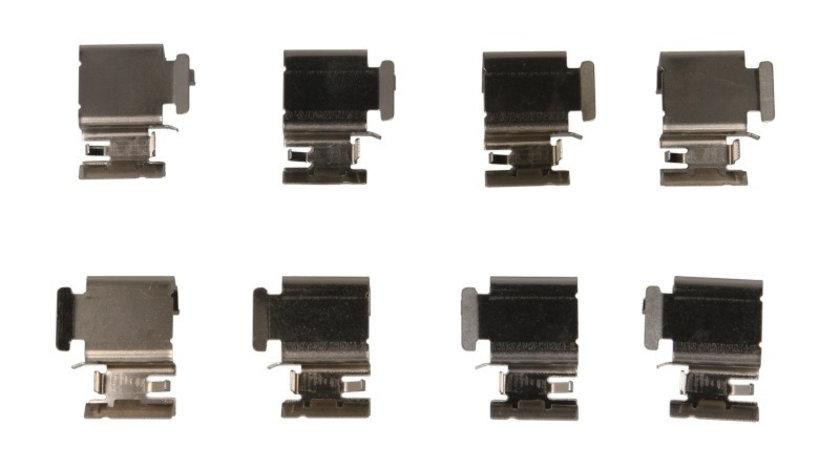 Set accesorii, placute frana OPEL ADAM (2012 - 2016) METZGER 109-1298 piesa NOUA
