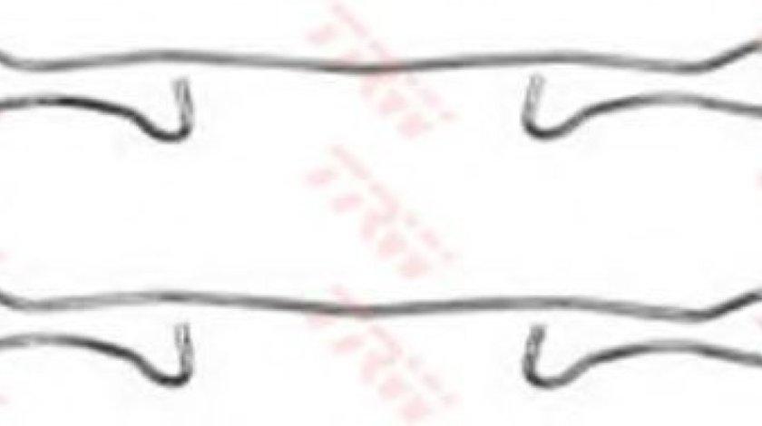 Set accesorii, placute frana OPEL ASTRA G Limuzina (F69) (1998 - 2009) TRW PFK302 piesa NOUA