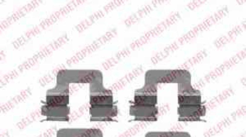 Set accesorii placute frana OPEL ASTRA G hatchback F48 F08 DELPHI LX0342