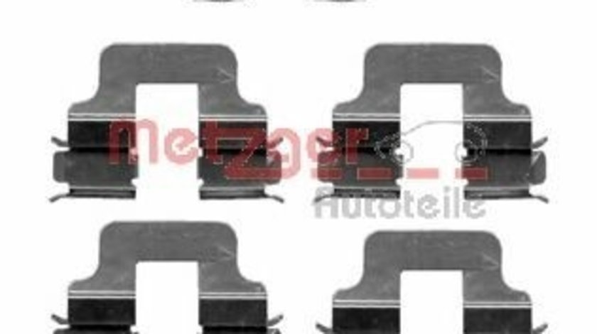 Set accesorii, placute frana OPEL ASTRA H (L48) (2004 - 2016) METZGER 109-1245 piesa NOUA