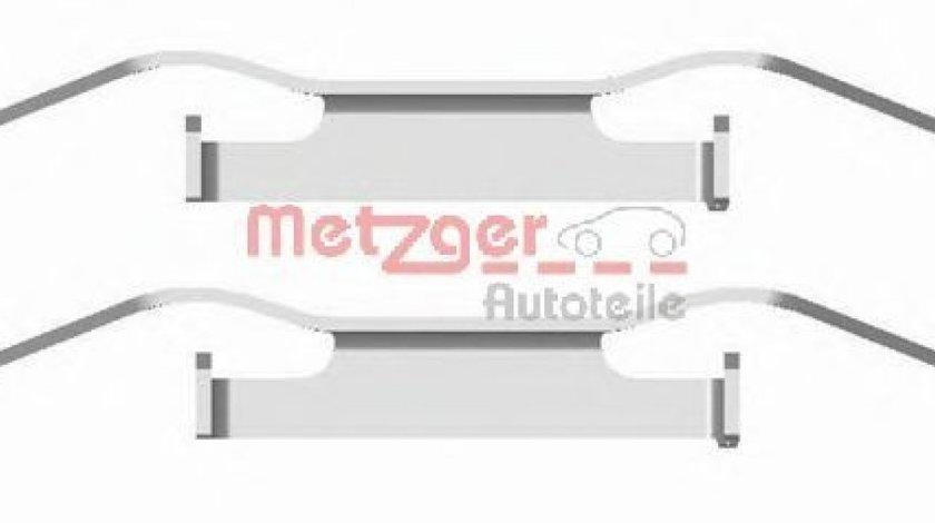Set accesorii, placute frana OPEL COMBO Combi (X12) (2012 - 2016) METZGER 109-1680 piesa NOUA