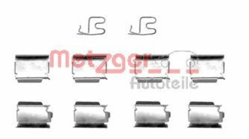 Set accesorii, placute frana OPEL CORSA C (F08, F68) (2000 - 2009) METZGER 109-1246 piesa NOUA