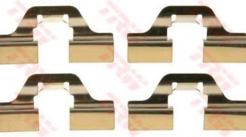 Set accesorii, placute frana PEUGEOT PARTNER caroserie (5) (1996 - 2012) TRW PFK405 piesa NOUA