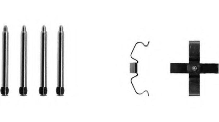 Set accesorii, placute frana SAAB 9-5 Combi (YS3E) (1998 - 2009) TEXTAR 82025700 piesa NOUA
