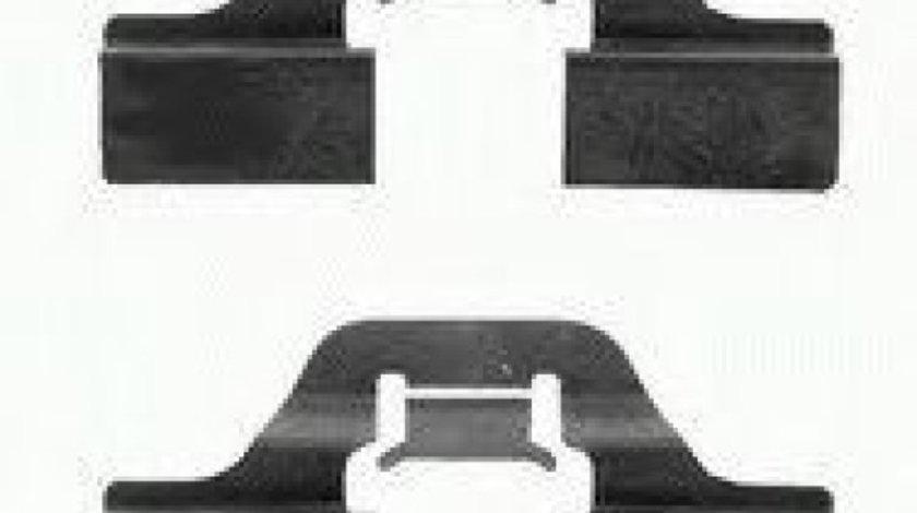 Set accesorii, placute frana SKODA OCTAVIA II Combi (1Z5) (2004 - 2013) TEXTAR 82037300 - produs NOU