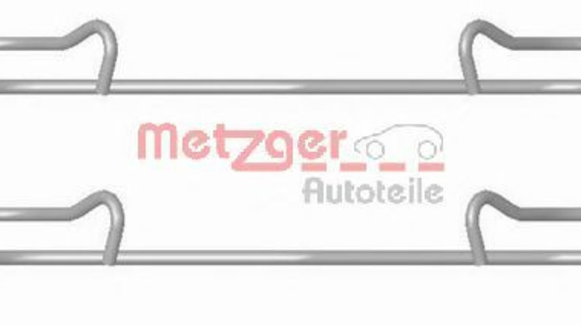 Set accesorii, placute frana VW TIGUAN (5N) (2007 - 2016) METZGER 109-1678 piesa NOUA
