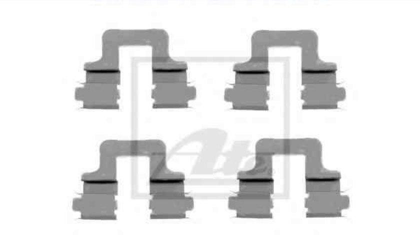Set accesorii, placute frana VW TIGUAN (5N_) ATE 13.0460-0259.2