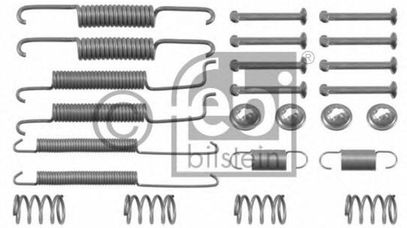 Set accesorii, sabot de frana AUDI A2 (8Z0) (2000 - 2005) FEBI BILSTEIN 02060 piesa NOUA