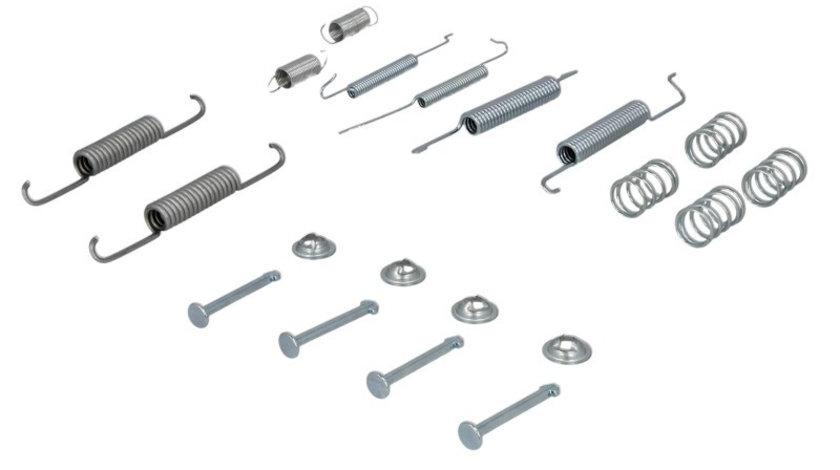 Set accesorii, sabot de frana AUDI A2 (8Z0) (2000 - 2005) METZGER 105-0680 piesa NOUA