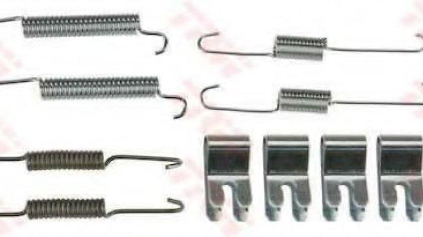 Set accesorii, sabot de frana MAZDA 2 (DE) (2007 - 2015) TRW SFK431 produs NOU