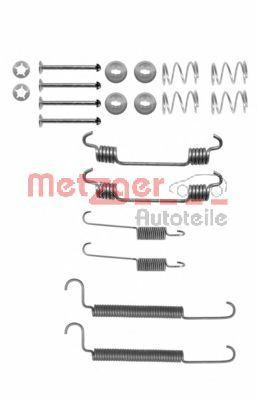 Set accesorii, sabot de frana OPEL ASTRA G Cupe (F07) (2000 - 2005) METZGER 105-0766 piesa NOUA