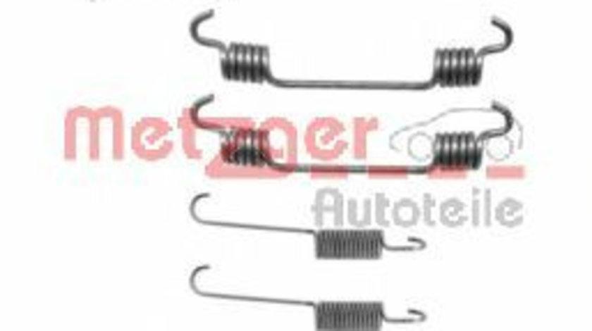 Set accesorii, sabot de frana OPEL ASTRA G Hatchback (F48, F08) (1998 - 2009) METZGER 105-0766 piesa NOUA