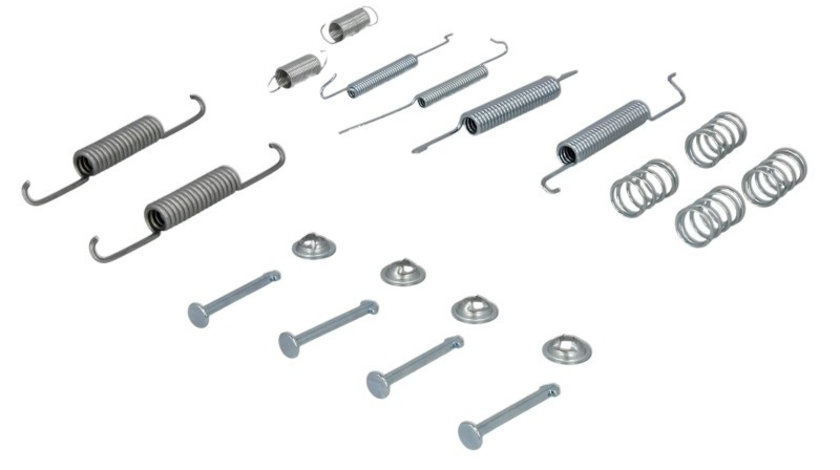 Set accesorii, sabot de frana SEAT CORDOBA (6K2) (1999 - 2002) METZGER 105-0680 piesa NOUA