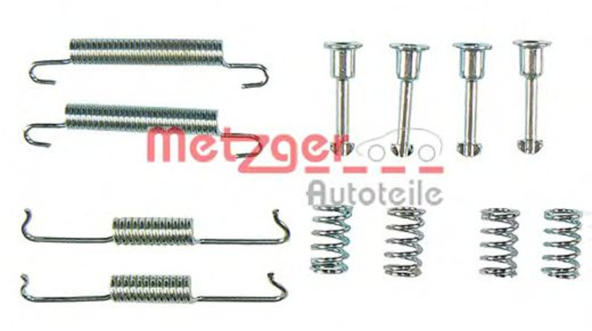Set accesorii, saboti frana parcare BMW Seria 3 (E46) (1998 - 2005) METZGER 105-0841 piesa NOUA