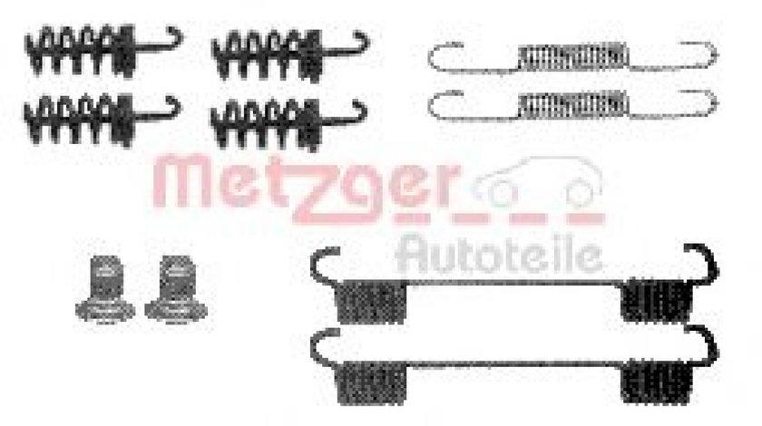 Set accesorii, saboti frana parcare MERCEDES CLK (C209) (2002 - 2009) METZGER 105-0874 piesa NOUA