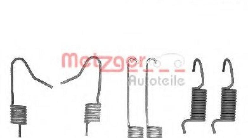 Set accesorii, saboti frana parcare NISSAN QASHQAI / QASHQAI +2 (J10, JJ10) (2007 - 2013) METZGER 105-0898 piesa NOUA