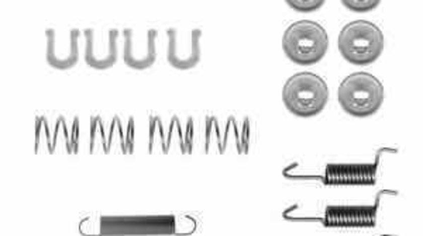 set accesorii saboti frana parcare TOYOTA AVENSIS T22 DELPHI LY1408