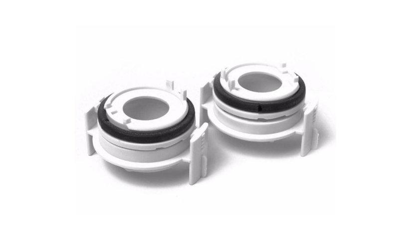 Set adaptoare bec xenon sau led H7 BMW E46