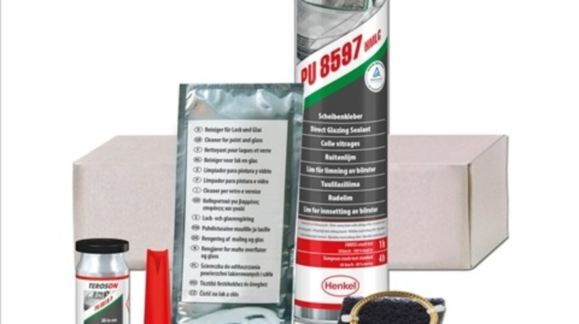 Set adeziv lipire parbriz Henkel